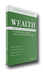 wealth protection planning for orthopaedic surgeons book cover