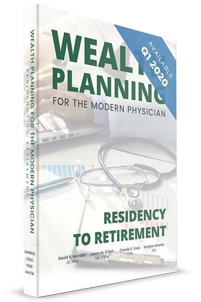 wealth planning for the modern physician book cover