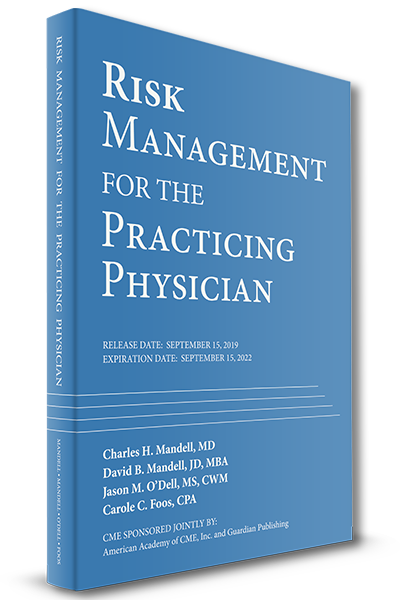 risk management for the practicing physician cover cme credits