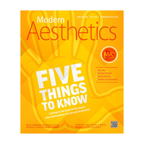 modern aesthetics may/june 2020 cover
