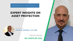 wealth planning for the modern physician podcast banner ad featuring bo loeffler esq
